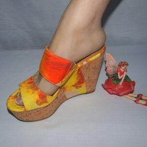 Nine West Wedges Nine West Larysa Sandals NWOB 6M